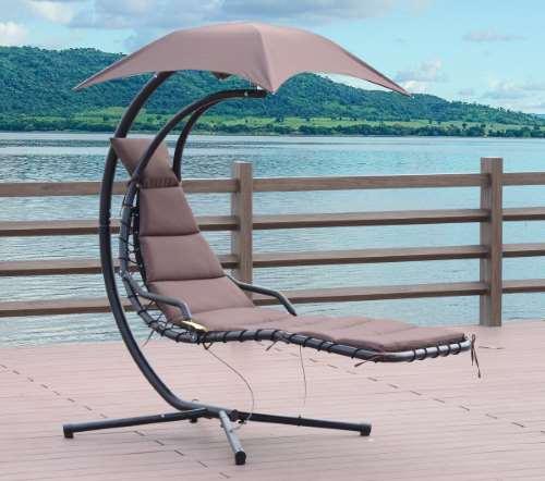 un fauteuil de jardin suspendu pour oublier le stress. Black Bedroom Furniture Sets. Home Design Ideas