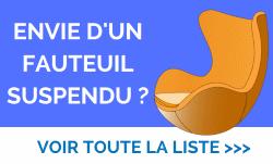 Liste de fauteuils suspendus sur amazon.fr